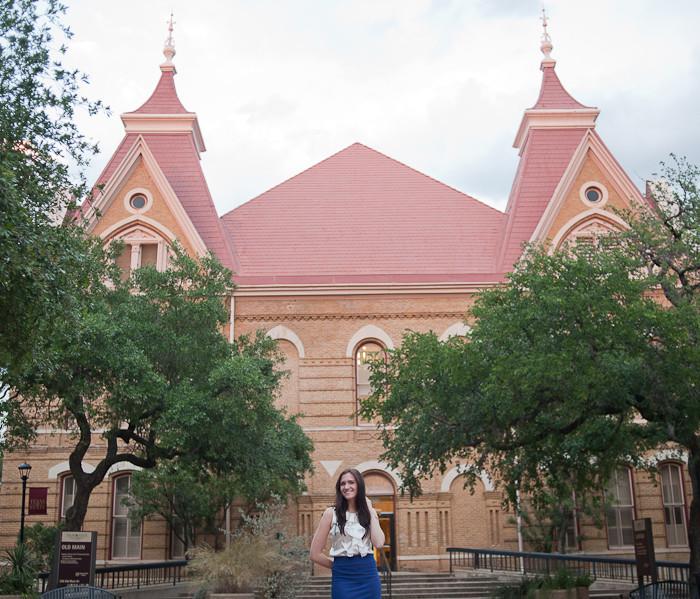 Texas State Graduation Portrait Photographer | Lindsey
