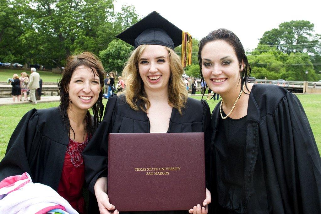 texas state graduation spring 2011