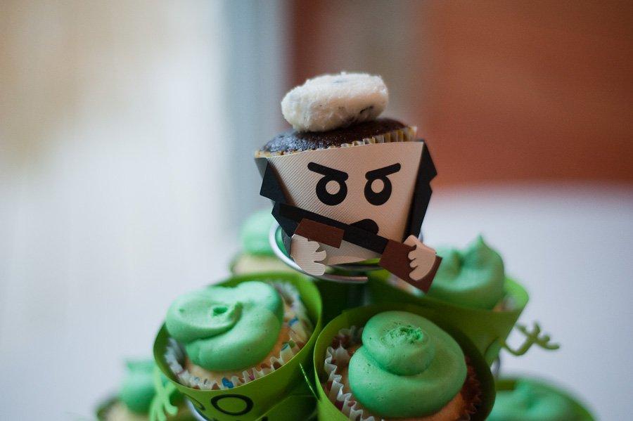 zombie homemade cupcakes