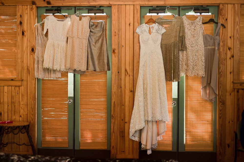 austin vintage wedding photographer, custom made lace dress from etsy, mismatched neutral tone bridesmaid dresses, retreat at balcones springs wedding