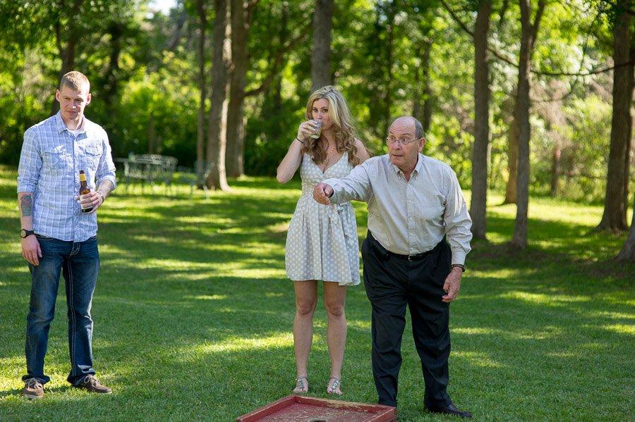 backyard wedding photographer in austin