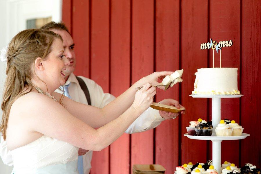 austin modern wedding photography, backyard wedding austin texas, cupcake and cake desserts,
