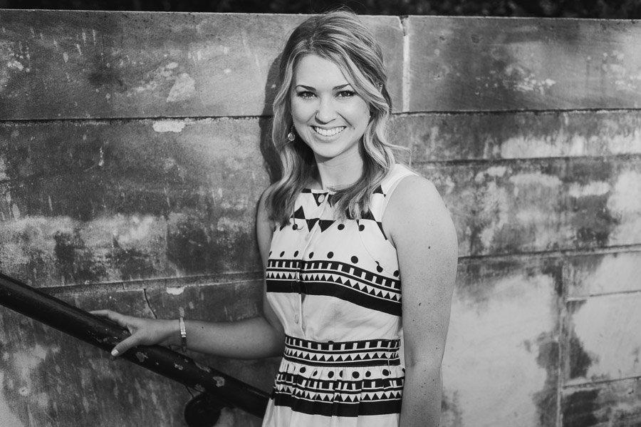 black and white senior portraits, university of texas graduation photographer black and white