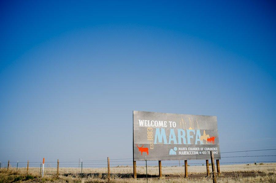 welcome to marfa