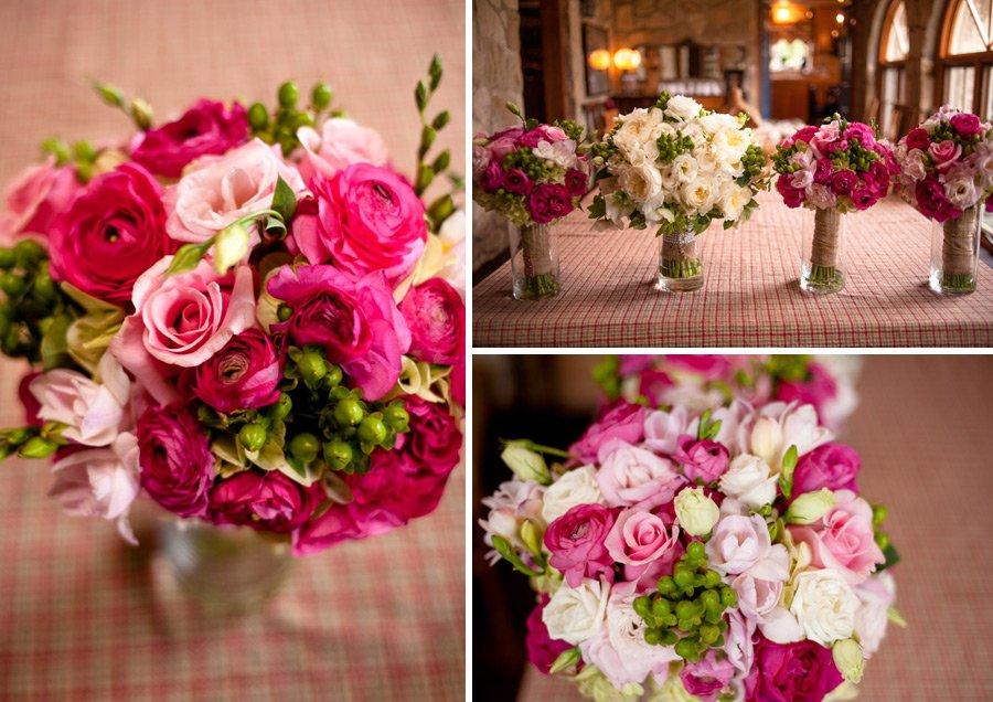 pink and white bouquets, pink  bouquet, pink rose bouquet, peony and roses, bridal boquets