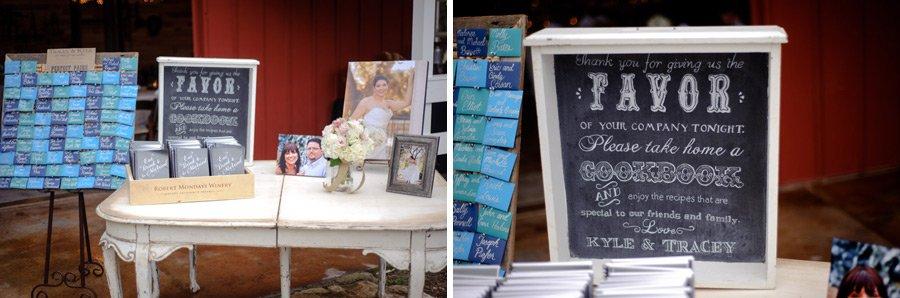 sign in table details, wine cork bulletin board