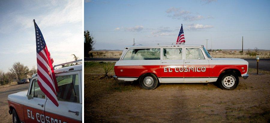 el cosmico wagon, marfa texas sunset, marfa texas photography, marfa photographer, marfa wedding photography