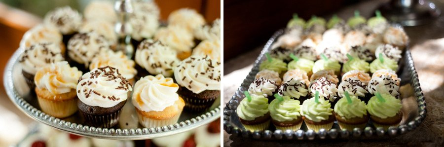 mini cupcake trays, san antonio cupcake makers, backyard wedding,
