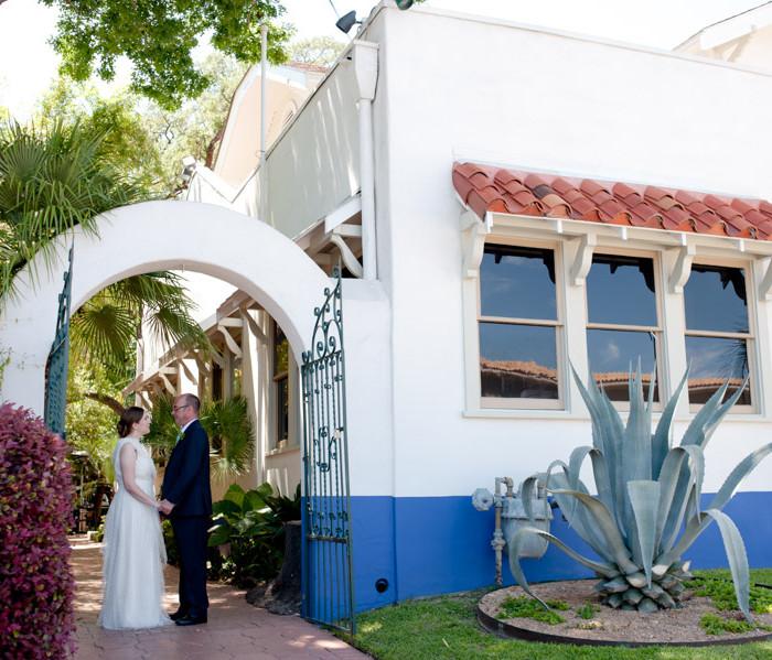 Intimate San Antonio daytime wedding