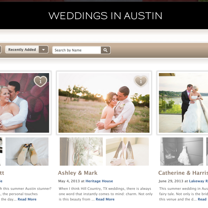 Featured on Borrowed & Blue | Real Austin Weddings