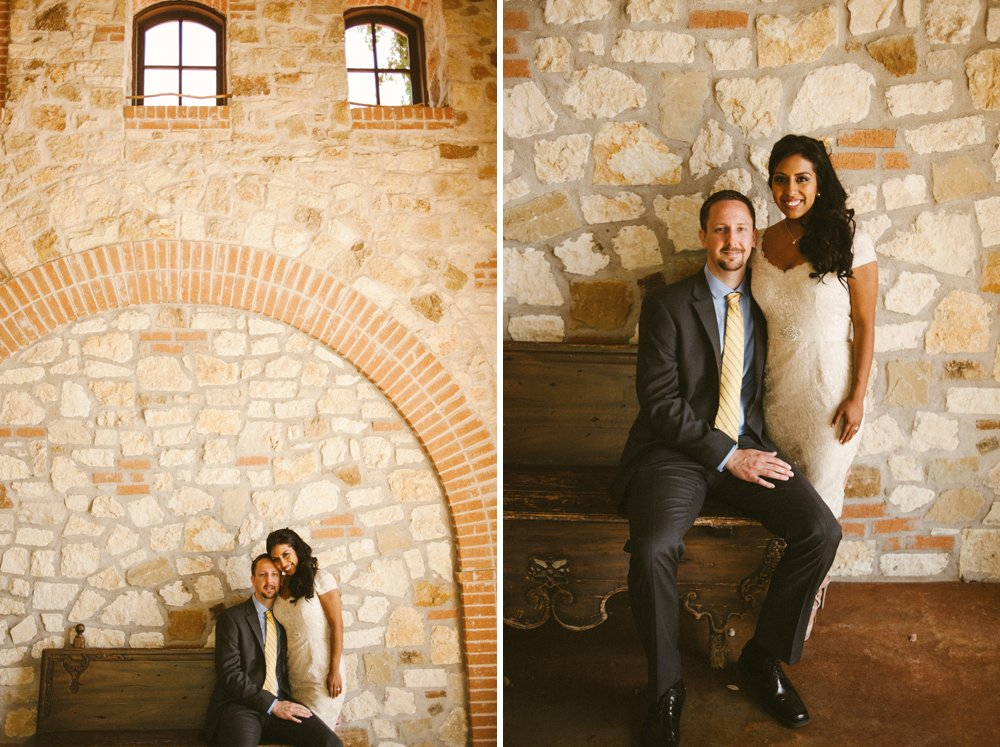 bride and groom portraits at trattoria austin, restaurant elopement photography bride and groom portraits, italian inspired wedding photography, austin wedding photographer at duchman family winery