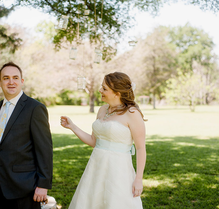 One Year Anniversary | Hilary & Michael | Cedar Bend Events Center Bastrop Wedding