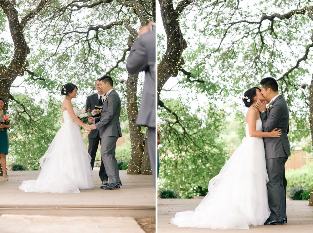 first kiss at antebellum oaks austin