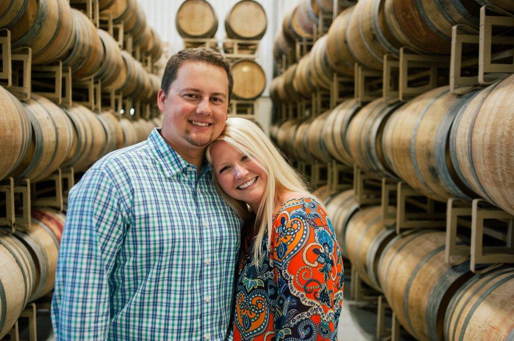 duchman family winery portraits, wine proposal, destination portrait photographer, proposal photography