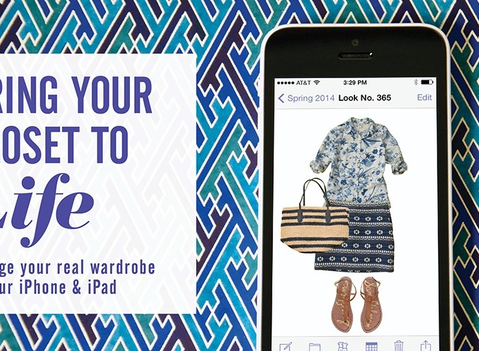 Just For Fun Friday | Build your wardrobe for college and organize it using your iPhone