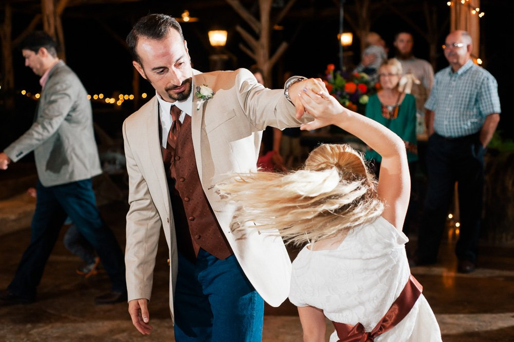 fall wedding at old glory ranch in limberly