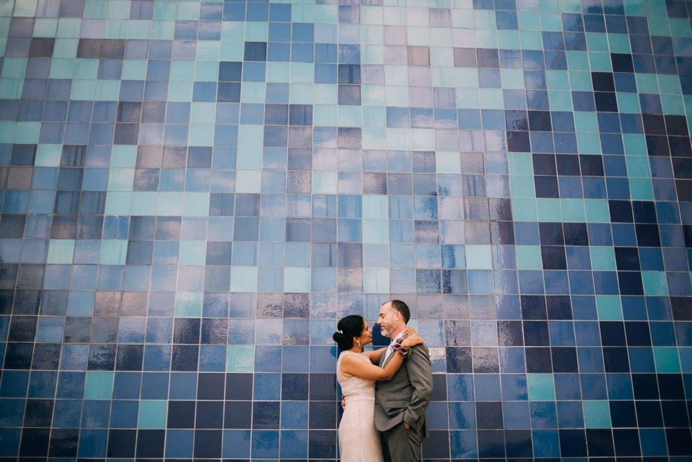 austin at home wedding elopement, travis heights wedding photography, south austin wedding photographer, downtown blue wall austin portraits, fall elopement at home in south austin
