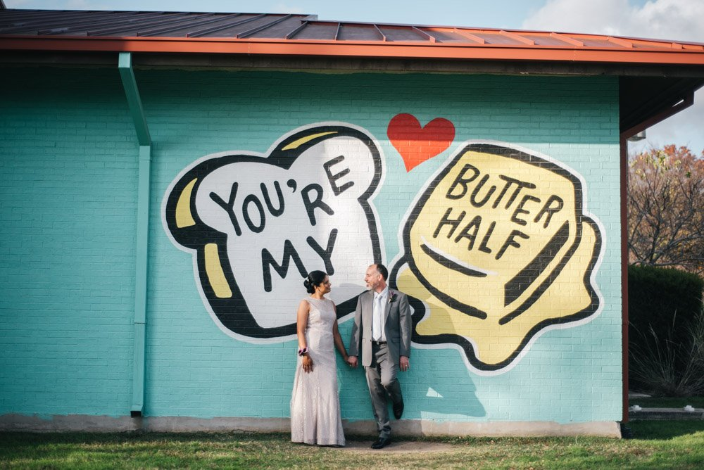 intimate east side wedding photography, you're my butter half wedding portraits, you're my butter half photos, happy in love austin photography