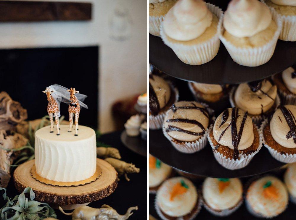 sugar mamas cupcakes, africa theme cake toppers, natural wedding cake ideas