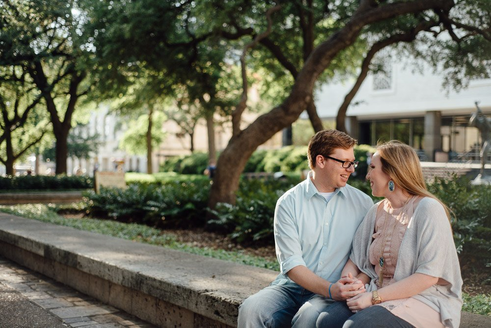 austin engagement photography in spring