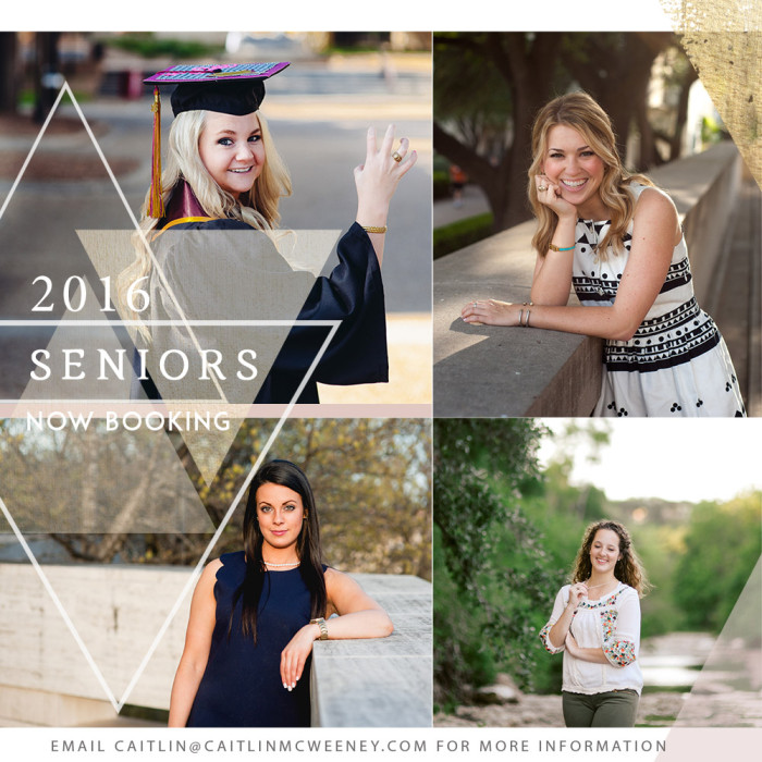 Now Booking Austin and Fort Worth Senior Portraits   Class of 2016
