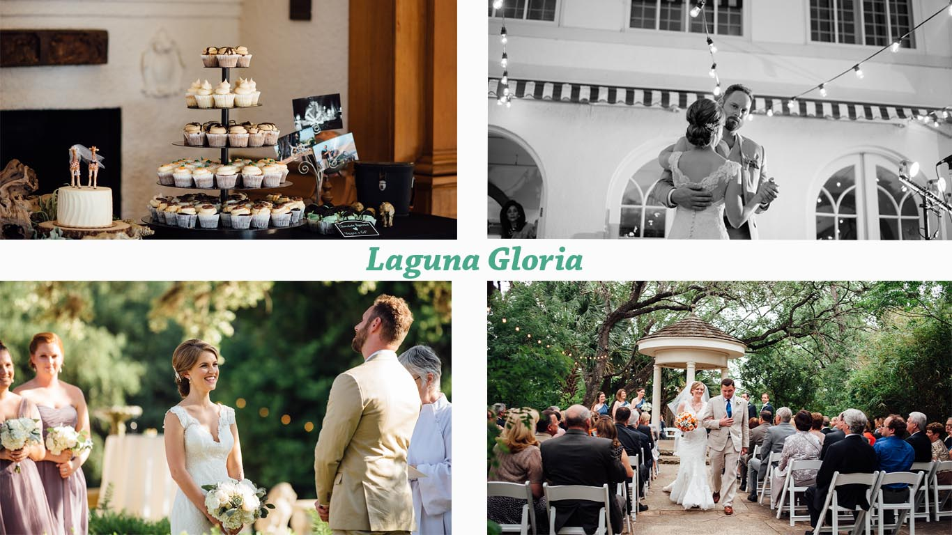 wedding at laguna gloria austin