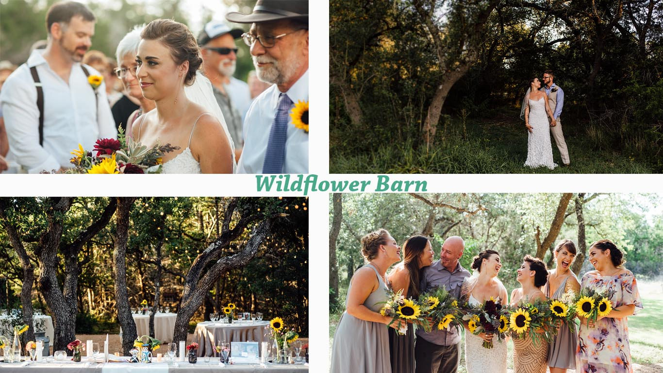 driftwood wedding venues, list of austin wedding venues, where to get married in central texas, austin wedding venues, wildflower wedding venues