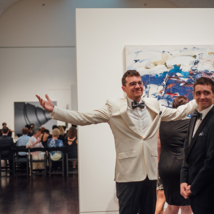 Moody Blanton Art Museum Wedding | Austin