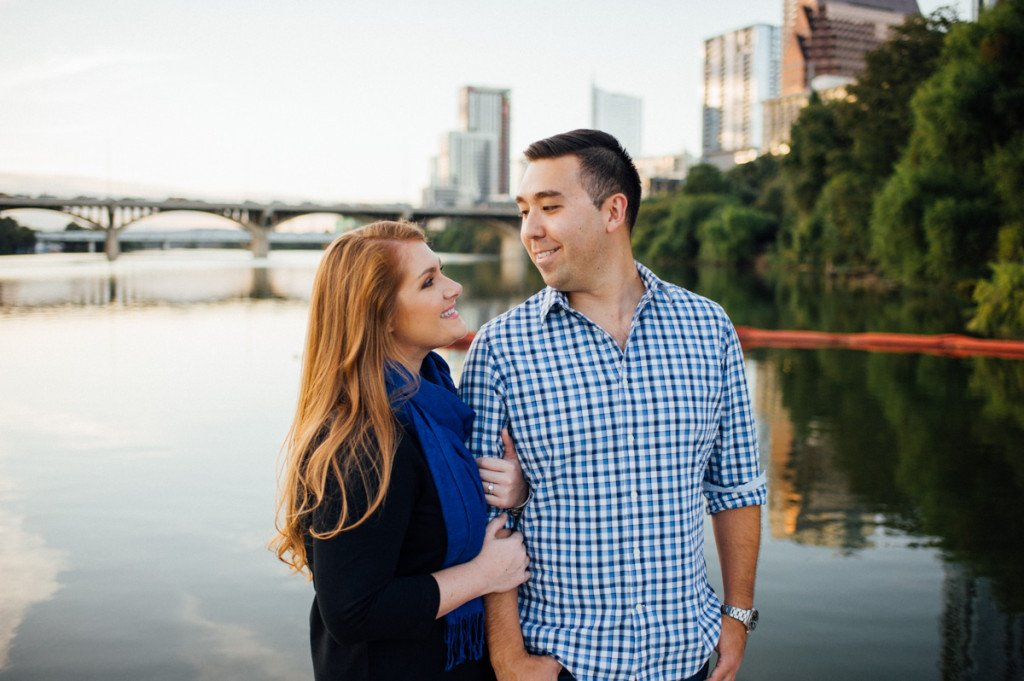 town lake engagement photos, austin fall anniversary session, lifestyle portraits in austin texas