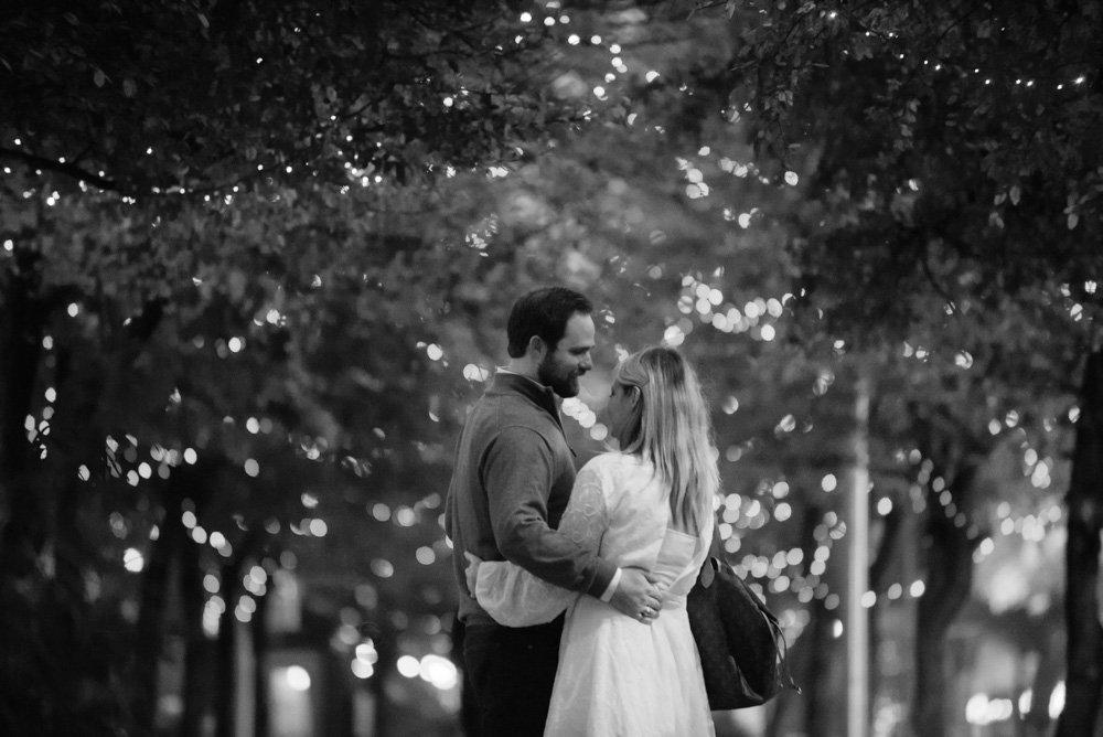 winter proposal photographs in austin texas, downtown proposal, austin proposal photographer