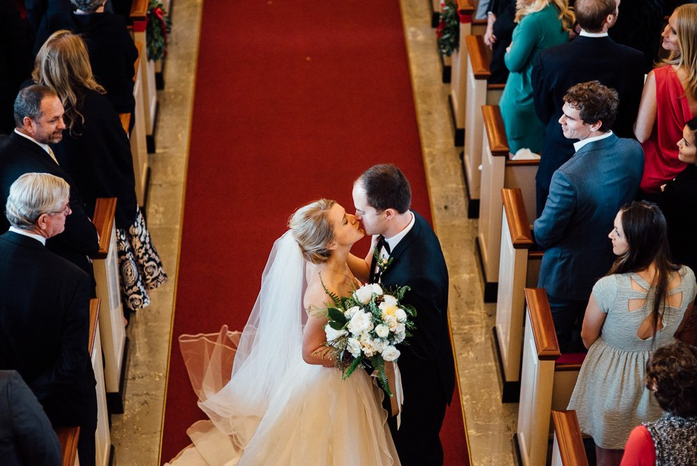winter white wedding in fort worth at robert carr chapel, intimate christmas wedding in fort worth, fort worth wedding photography,