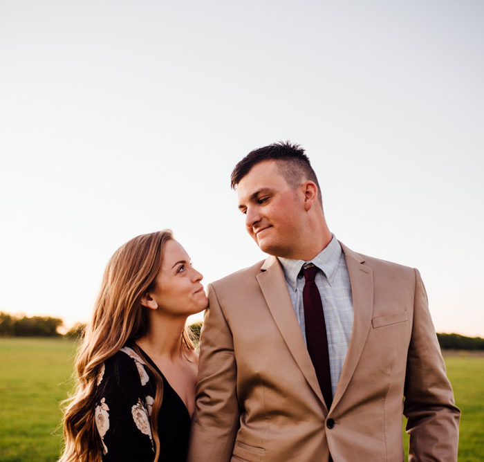 Classic Oaks Ranch Engagement Session | Fort Worth Engagement Photography