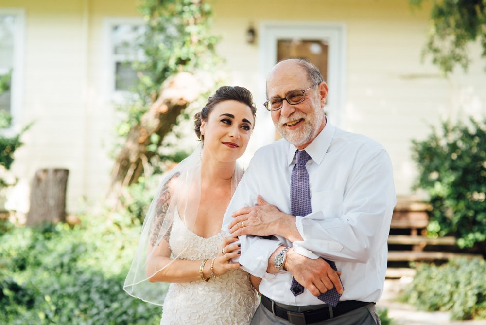 father-daughter first look