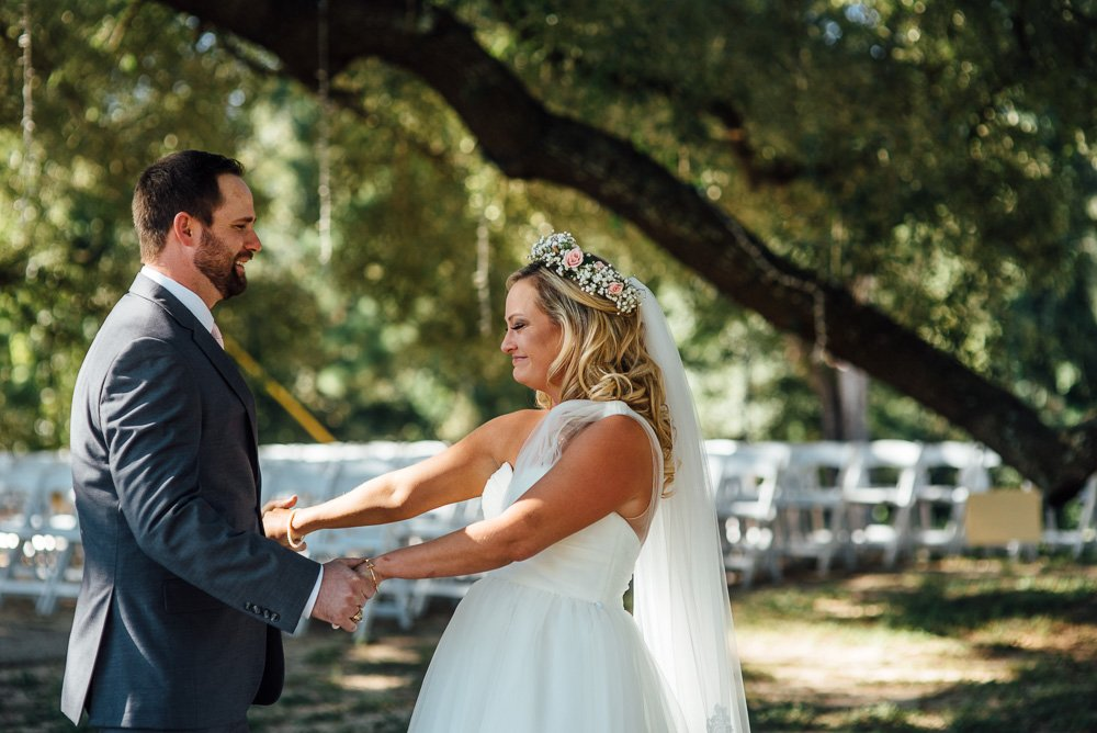 rustic fall wedding at pine lake ranch