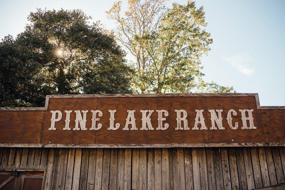 pine lake ranch wedding