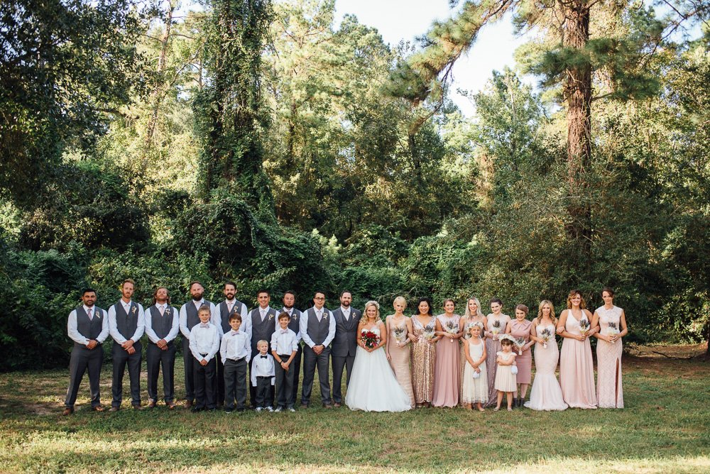 houston wedding photography, casual wedding photographer in houston, pine lake ranch wedding