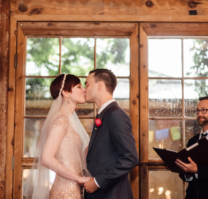 Intimate Wedding at The Cotton Mill McKinney | S & L