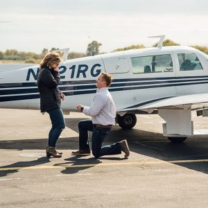 Fort Worth proposal photographer | Peter & Mallory