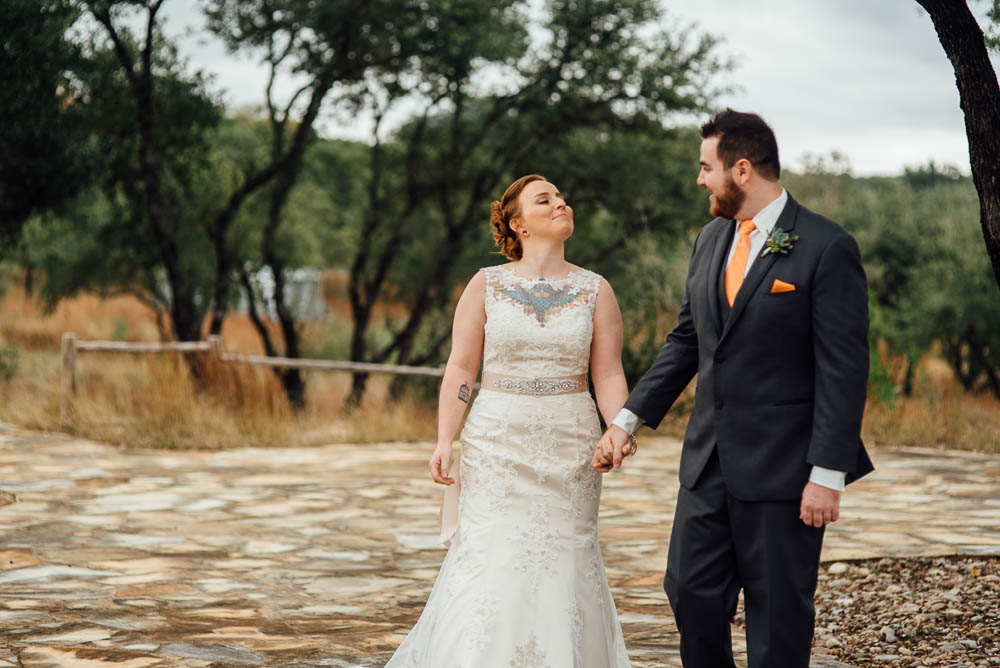 colorful fall wedding in austin, fall intimate wedding portraits, heritage house brunch wedding