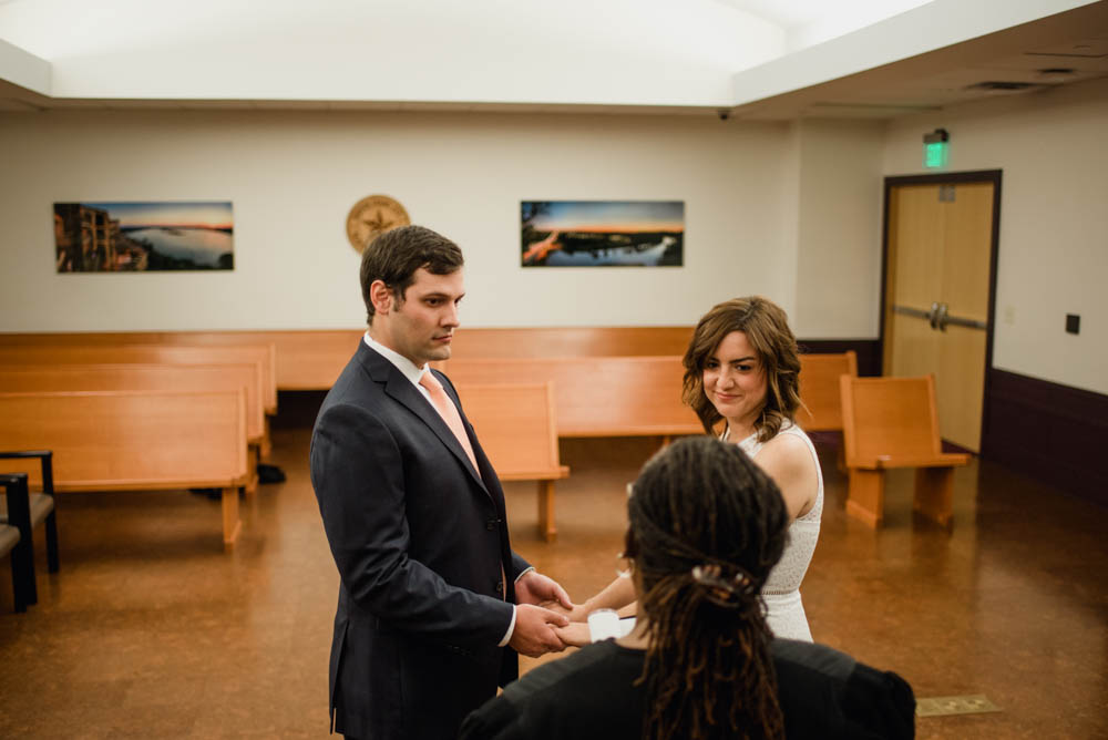Justice Of The Peace Wedding.Rainy Downtown Austin Elopement Jade Bill Caitlin Mcweeney