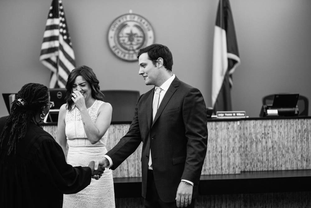 emotional austin elopement photographer