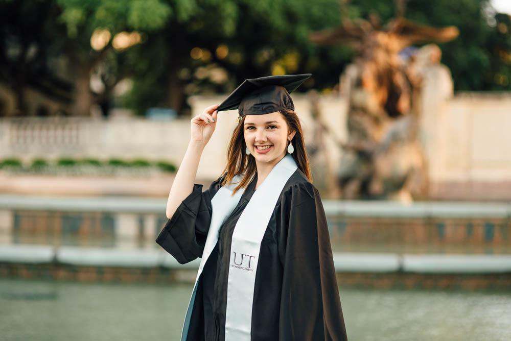 UT graduation professional portrait pricing