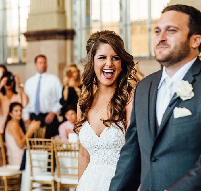 Favorite Frame Friday | Fort Worth Wedding at T&P Station