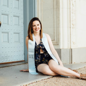 University of Texas Graduation Portraits | Kirsten