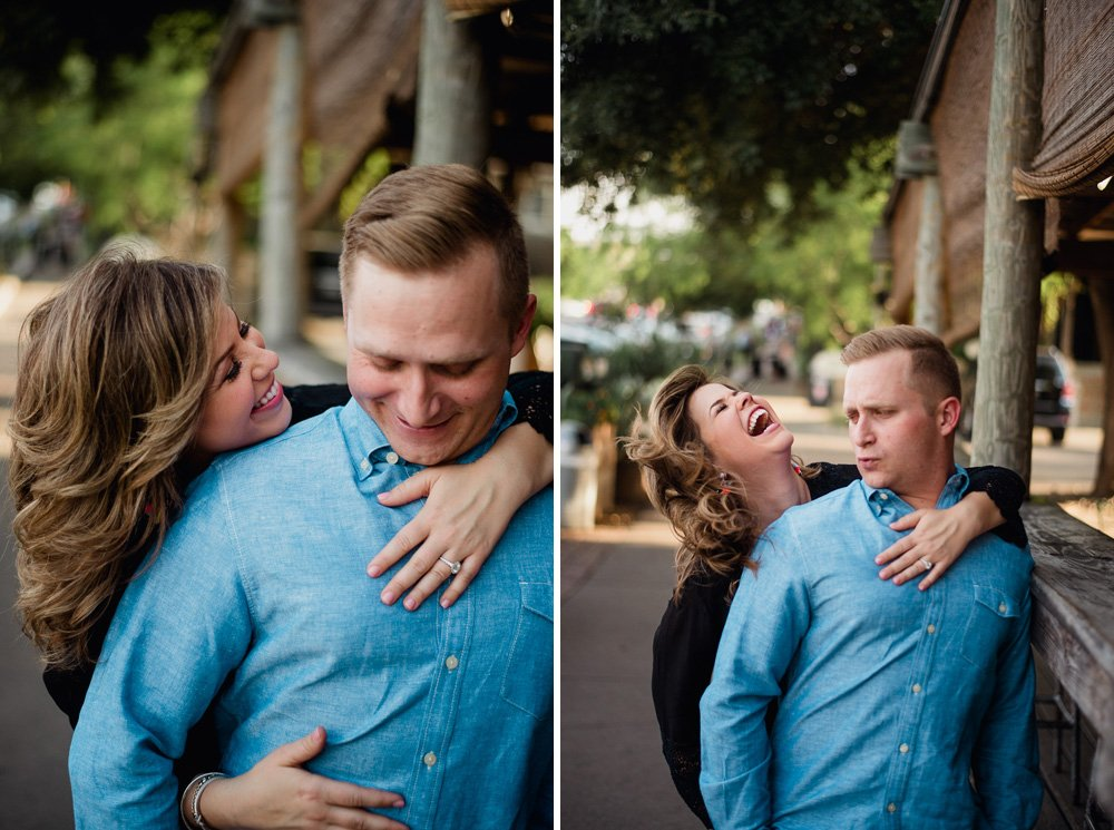candid engagement photographs in austin texas, texas engagement photography, austin creative engagement photographer