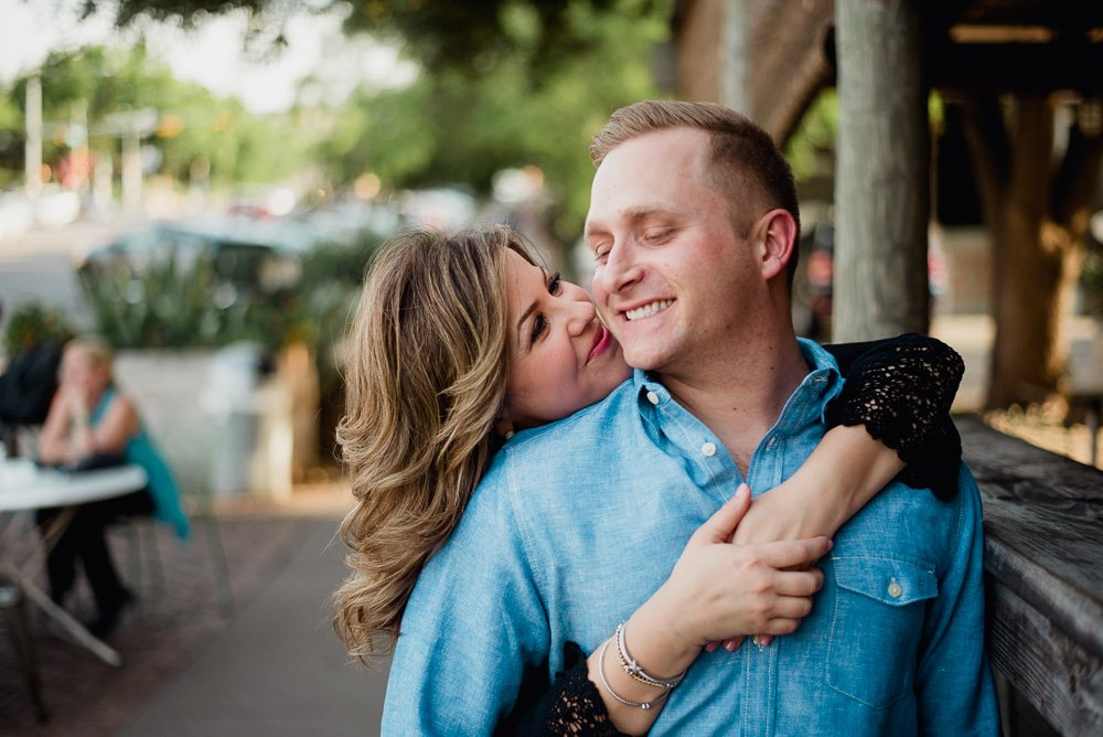 south congress engagement session