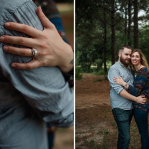 Houston Engagement Session at Hermann Park