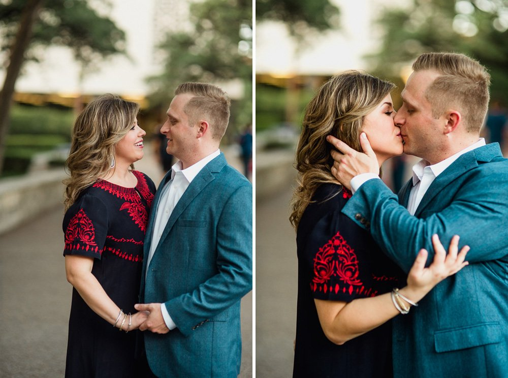 natural light engagement photographer, downtown austin engagements, formal engagement session on UT campus, creative austin engagement photographer, classy engagement photo outfits