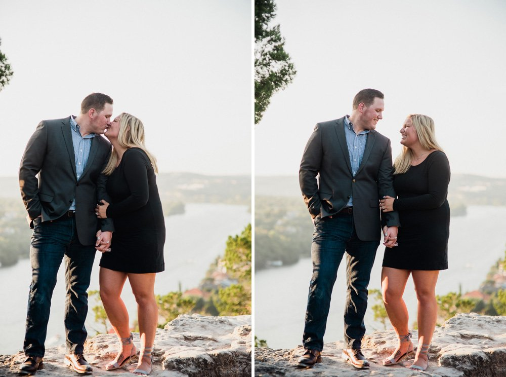 outdoor proposal photo spots in austin, natural light engagement photographs, austin proposal photographer