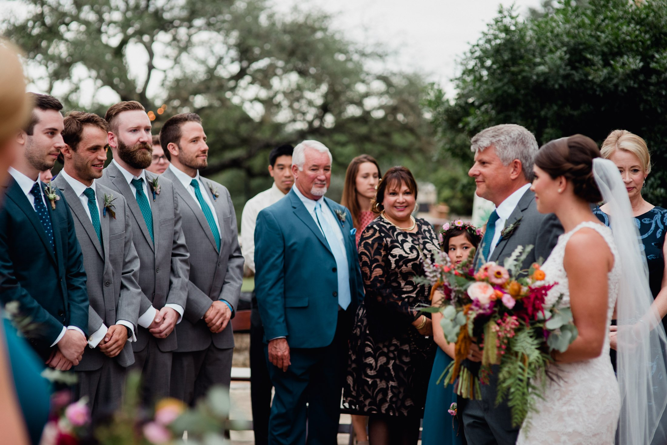 outdoor ceremony photographs